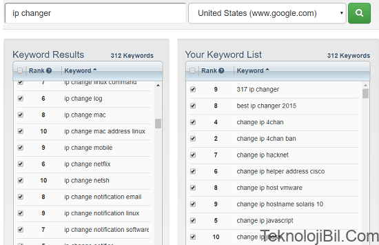 Google Suggestion Tool by Keyword Tool Dominator