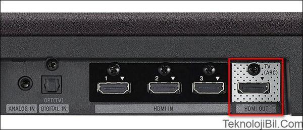 HDMI ARC ile ilgili görsel sonucu