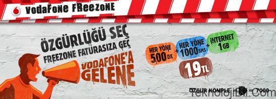 Vodafone Freezone ile ilgili görsel sonucu