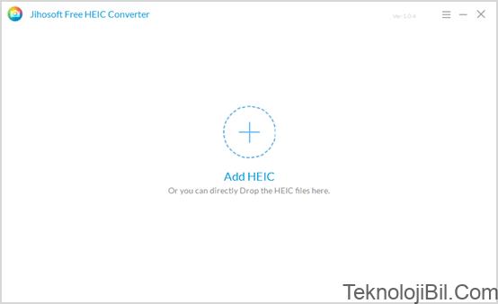 Jihosoft Free HEIC Converter User Guide