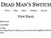 Dead Man's Switch ile ilgili görsel sonucu