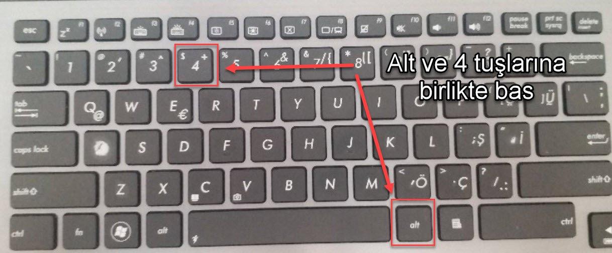 Klavyede Dolar İşareti Nasıl Yazılır