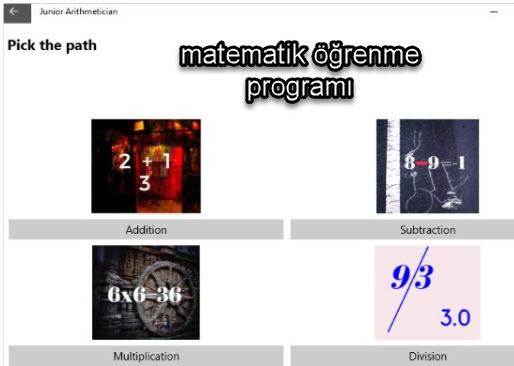 matematik öğrenme programı5